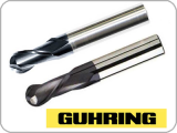 GUHRING BALL NOSE END MILLS